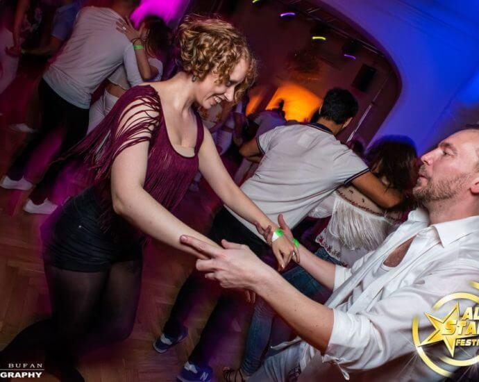 Couple dancing bachata