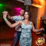 Hayley Newton dancing salsa